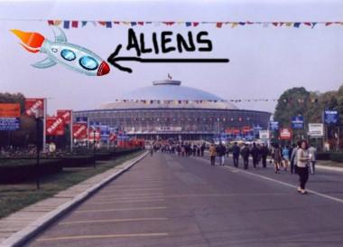 aliens come 2 romexpo