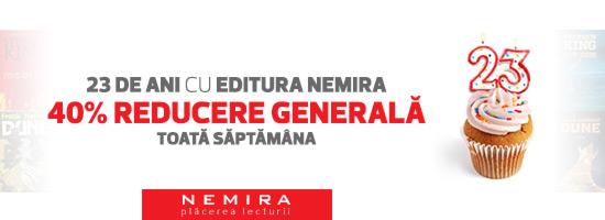 Bucură-te de lectură în Săptămâna Nemira!