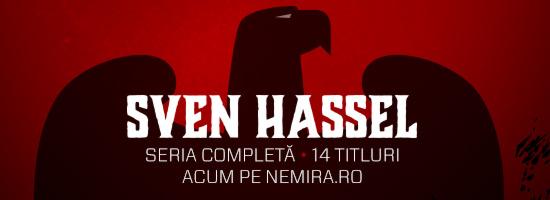 Sven Hassel, aşa cum îi stă bine: integral, pe nemira.ro!