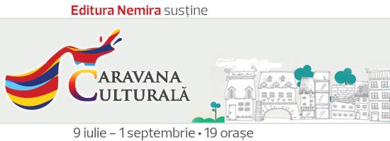 Caravana culturală aduce cărţile Nemira la tine în oraş!