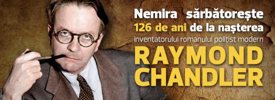 Raymond Chandler, 126 de ani de la naştere