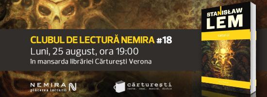 La ediţia din iulie a Clubului de lectură Nemira, am fost cu toţii Vegetali