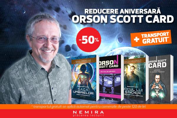 Orson Scott Card aniversar