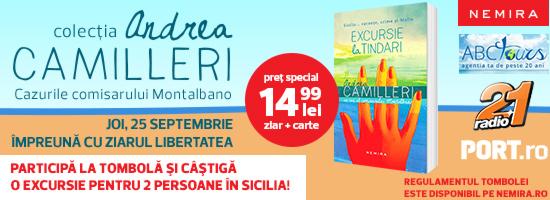 Seria Camilleri la final. În curând vom afla câştigătorul excursiei în Sicilia!