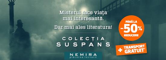 Săptămâna aceasta Nemira vă ţine în Suspans!