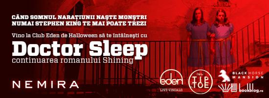 De Halloween, editura Nemira îţi face programare la Doctor Sleep!