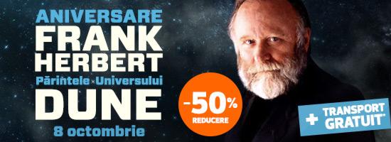 Frank Herbert, părintele universului Dune, aniversat pe data de 8 octombrie!