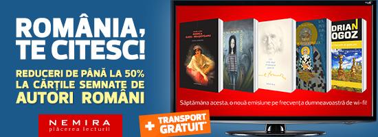 Să dăm autorilor români ceea ce le aparţine: plăcerea lecturii