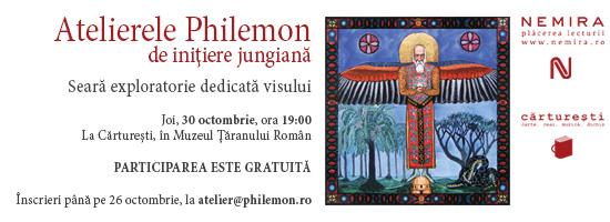 Primul Atelier PHILEMON: seară exploratorie dedicată visului