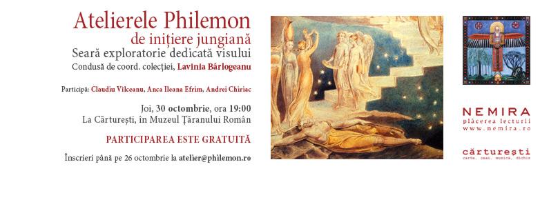 Aflaţi care sunt invitaţii de la primul Atelier Philemon