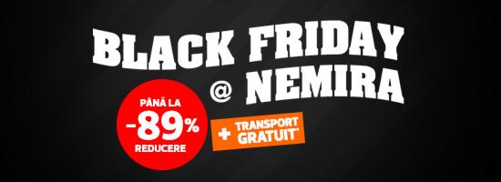 Editura Nemira dă startul promoţiei de Black Friday! Liber la cumpărături!