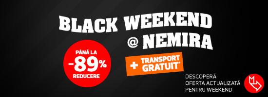 Black Friday devine Black Weekend în acest sfârşit de săptămână!
