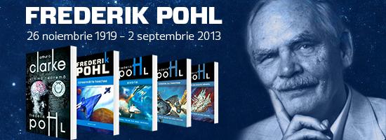 26 noiembrie, ziua când s-a născut marele Frederik Pohl