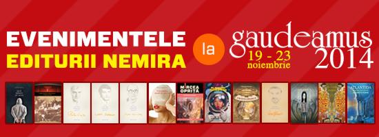 Nemira la Gaudeamus: peste 500 de titluri în portofoliu, multe noutăţi şi la fel de multe lansări!