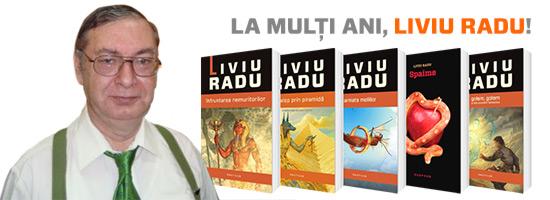 Astăzi, 20 noiembrie, îl sărbătorim pe unul dintre cei mai importanţi autori români: Liviu Radu!