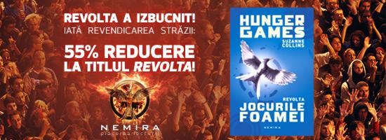 Revolta, cartea ce stă la baza premierei acestei zile, 55% reducere în weekend!