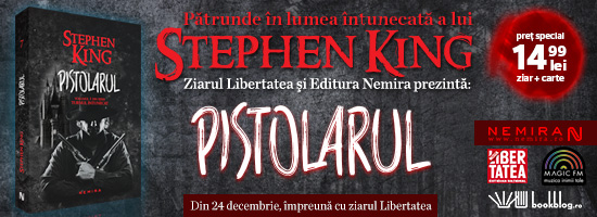 Faceţi un cadou inspirat: ultimul titlu al campaniei Stephen King apare în ajun de Crăciun!