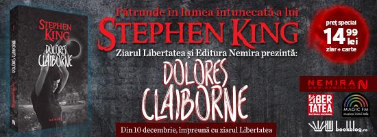 Stephen King continuă seria femeilor criminale: după Annie Wilkes urmează Dolores Claiborne
