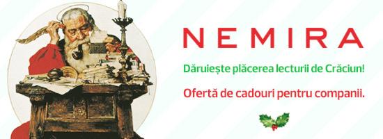 De sărbători, Nemira te ajută să faci o bucurie angajaţilor şi partenerilor tăi!