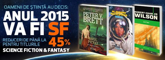 Anul acesta sărbătorim genul science-fiction pe nemira.ro!