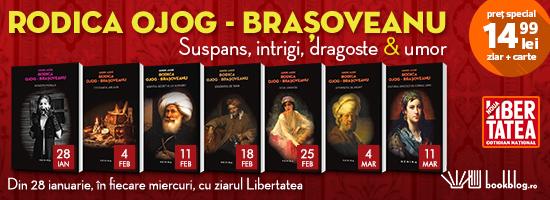 Rodica Ojog Braşoveanu revine la chioşcurile de presă într-o nouă serie de autor!