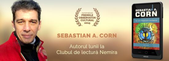 Sebastian A. Corn – cel mai în vogă scriitor român de science-fiction, acum şi în format ebook pe nemira.ro
