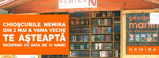 Librăriile Nemira din 2 Mai şi Vama Veche te provoacă la concurs!