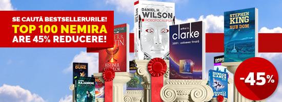 Cele 100 de bestseller-uri ale momentului, la ofertă pe nemira.ro!
