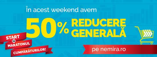 În weekend sunteţi invitaţi la Petrecerea Lecturii: 50% reducere generală pe nemira.ro!