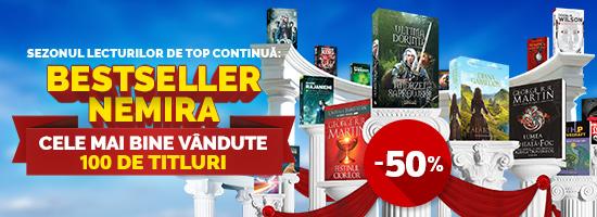 Lumea de gheaţă şi foc, Outlander, The Witcher: bestseller-urile Nemira sunt la jumătate de preţ!
