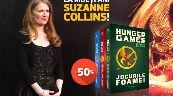 Aniversare Suzanne Collins, numai pe nemira.ro!