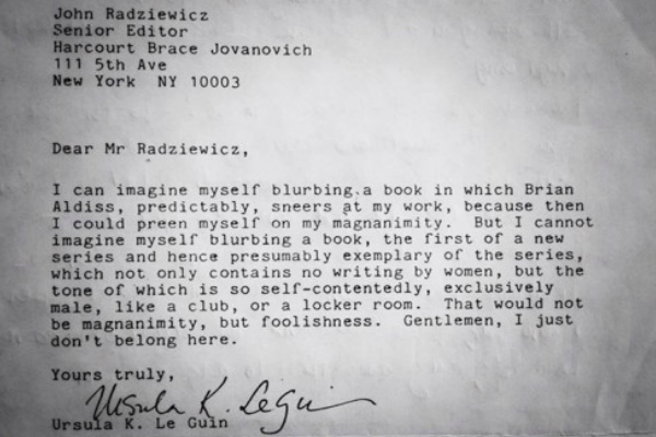 Ursula K Le Guin 600 x 400