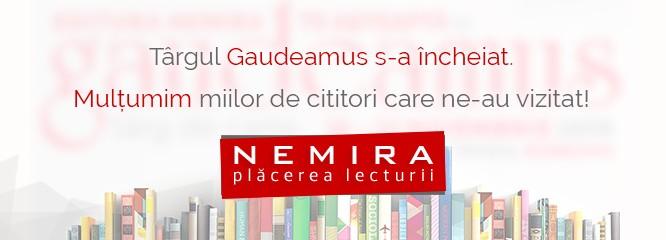 Gaudeamus 2015 la final: TOP 10 Nemira şi foarte multe mulţumiri vouă, cititorilor noştri!