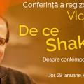 De ce Shakespeare azi? – Răspunde regizorul Victor Ioan Frunză în cadrul întâlnirilor Yorick pe data de 28 ianuarie