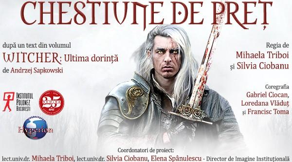Witcher intră în scenă: celebrul personaj al lui Andrzej Sapkowski îţi dă întâlnire la Cărtureşti Carusel!