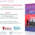"""De la Théâtre de Poche la Institutul Francez: """"Lecţia"""" lui Eugen Ionescu, din nou în atenţia publicului român"""