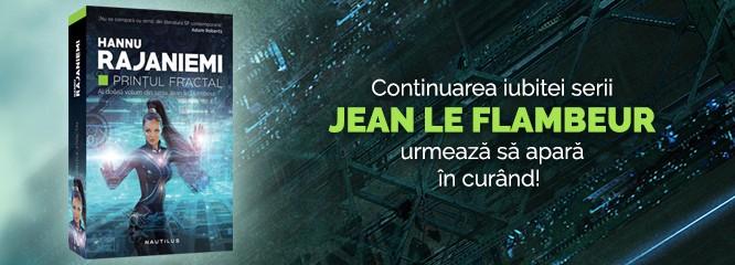 Avanpremieră: Prinţul fractal, continuarea fascinantului roman Hoţul cuantic, de Hannu Rajaniemi, va fi publicat în curând!
