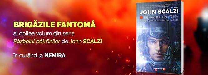 Avanpremieră: Brigăzile fantomă, continuarea volumului Războiul bătrânilor, de John Scalzi, apare în curând!