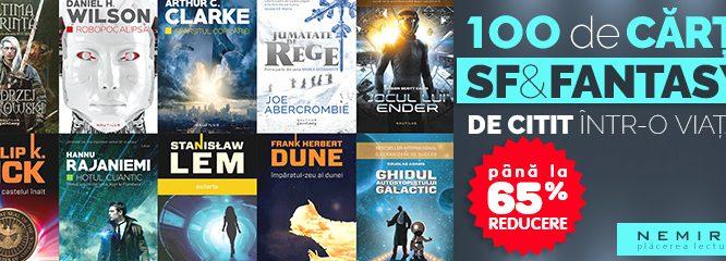 Ghidul celor 100 de cărţi SF & Fantasy de citit într-o viaţă