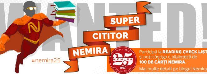 Căutăm Super-cititorul Nemira!