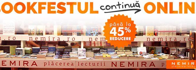 Concurs: Topul tău Nemira la Bookfest 2016