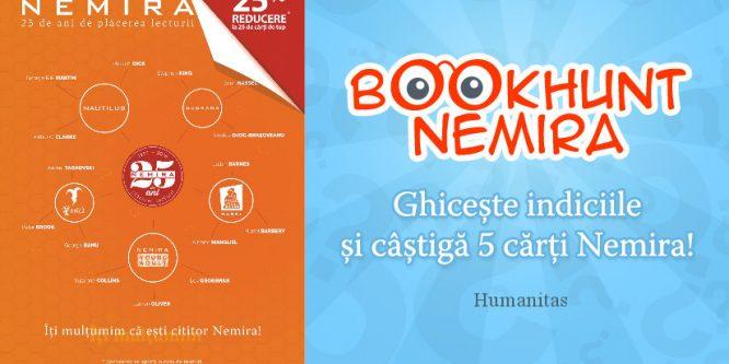 25 de ani de Nemira alături de librăriile Humanitas