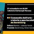 """""""Commedia dell' arte. O istorie a spectacolului în imagini"""" se lansează în cadrul FNT 2016"""
