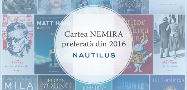 Cartea Nautilus SF preferată din 2016!