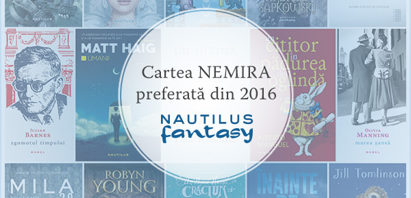 Cartea Nautilus Fantasy preferată din 2016