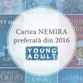 Cartea Nemira Young Adult preferată din 2016