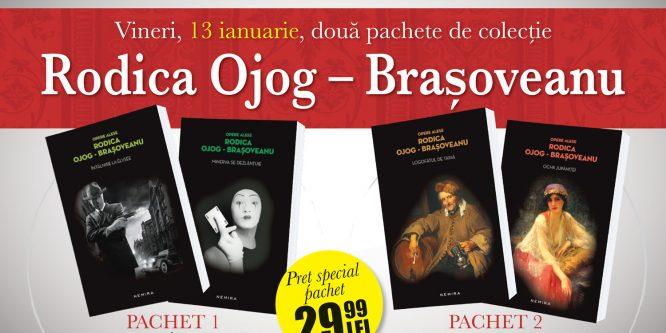 Rodica Ojog-Brașoveanu – pachete de colecție la chioșcurile de presă împreună cu Libertatea
