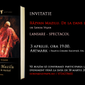 """Răzvan Mazilu. De la dans la musical"" – spectacol-lansare luni, 3 aprilie, la Artmark"