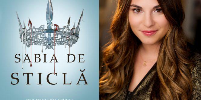 """Interviu: Victoria Aveyard despre """"Sabia de Sticlă"""""""