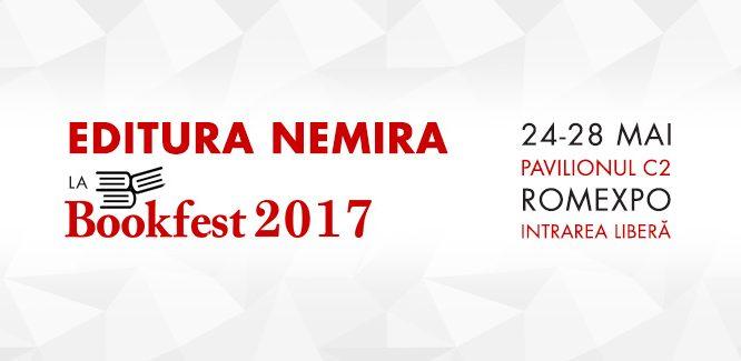 Editura Nemira la Bookfest 2017 cu multe noutăți și evenimente